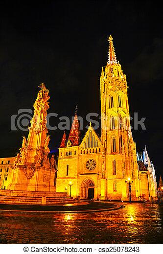 Matthias church in Budapest, Hungary - csp25078243