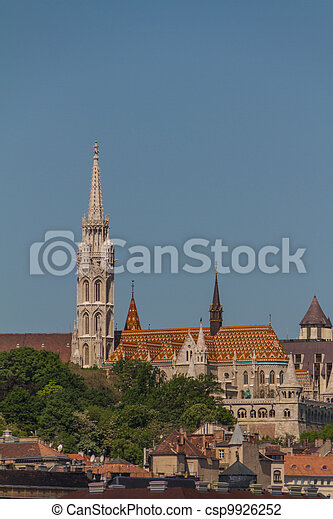Matthias Church in Budapest, Hungary - csp9926252