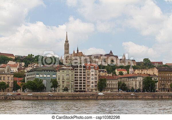 Matthias Church in Budapest, Hungary - csp10382298