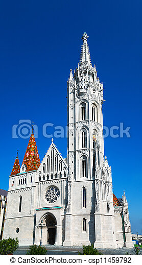 Matthias Church in Budapest, Hungary - csp11459792