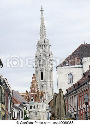 Matthias church in Budapest - csp49060385