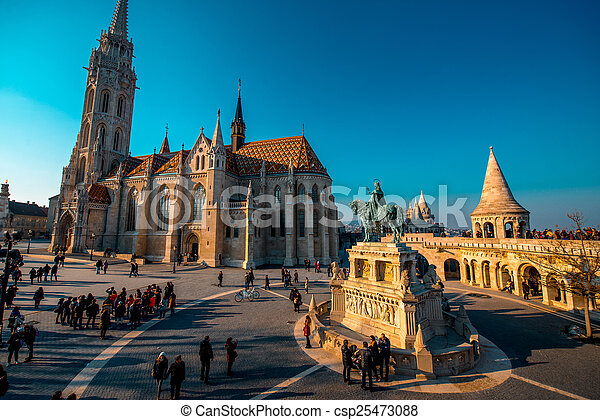 Matthias Church - csp25473088
