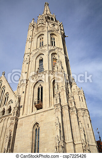 Matthias Church - csp7225426