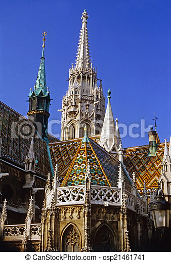 Matthias Church - csp21461741