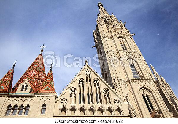 Matthias Church - csp7481672