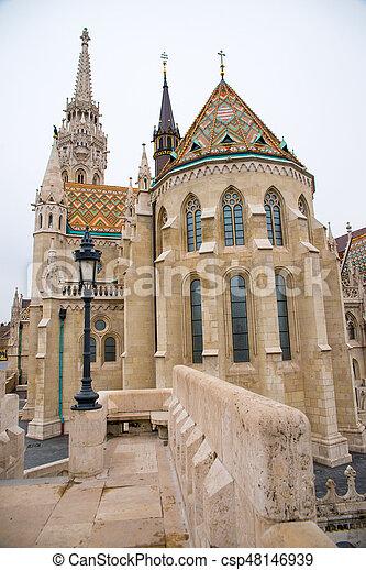 Matthias Church - csp48146939