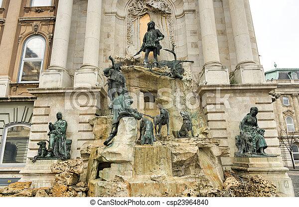 Matthias Fountain - Budapest, Hungary - csp23964840