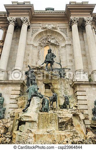 Matthias Fountain - Budapest, Hungary - csp23964844