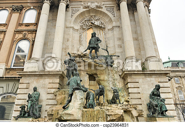 Matthias Fountain - Budapest, Hungary - csp23964831