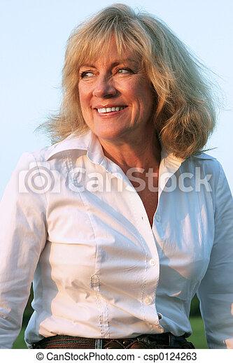 Czech mature woman