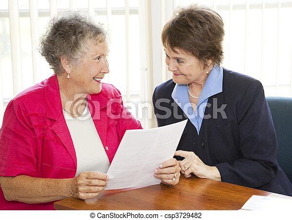 Mature Business Women - csp3729482