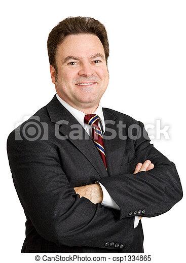 Mature Businessman Portrait - csp1334865