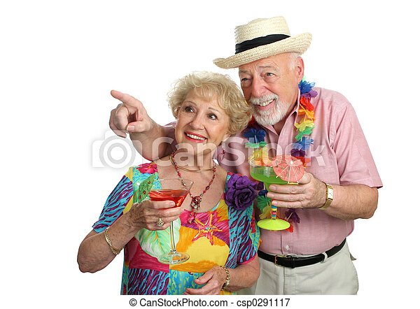 Mature Couple Sightseeing - csp0291117