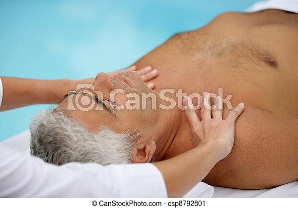 massage Mature man