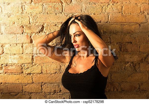 Mature Woman Portrait Csp52178298