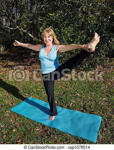 Mature yoga pics 21