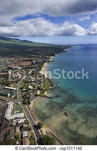Maui coast. - csp1511142