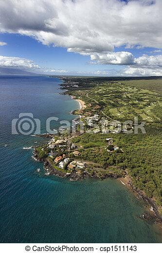 Maui, Hawaii coastline. - csp1511143