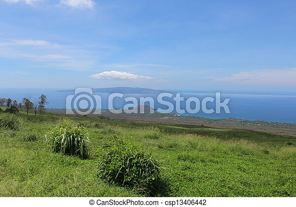 Maui Hawaii Upcountry Landscape - csp13406442
