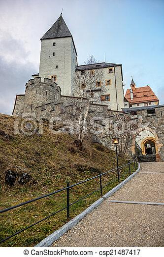 Mautendorf castle in Austria - csp21487417