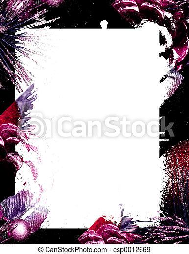 mauve blur - csp0012669