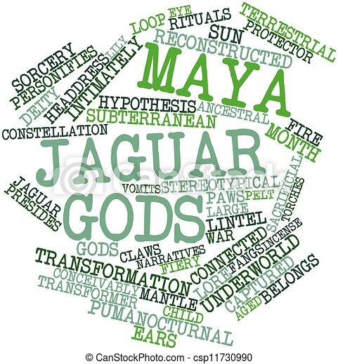 Maya Jaguar Dioses Jaguar Terminos Etiquetas Dioses Resumen