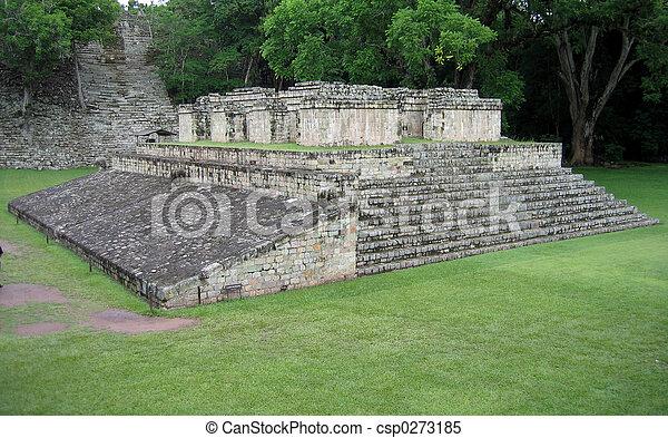maya, templo - csp0273185