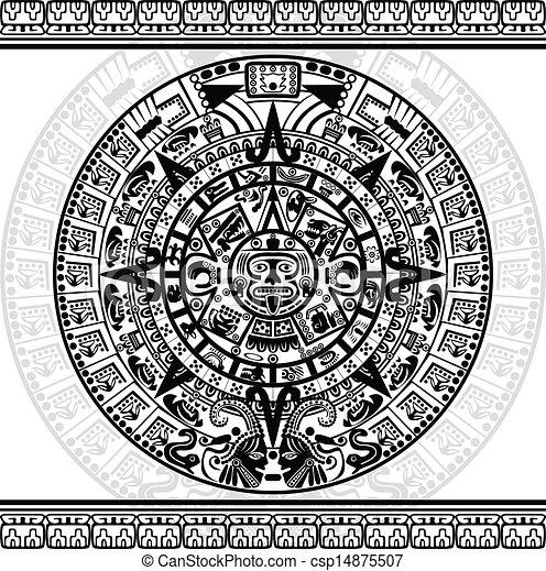 Mayan calendar - csp14875507