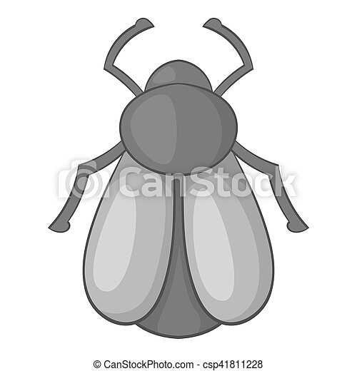 Maybug icon, cartoon style - csp41811228