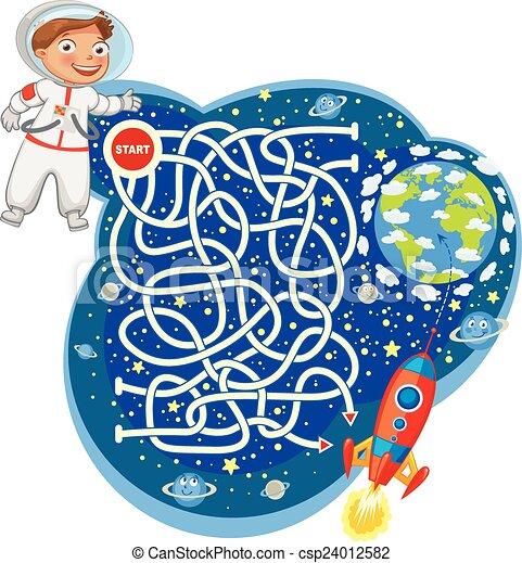 Maze Game - csp24012582