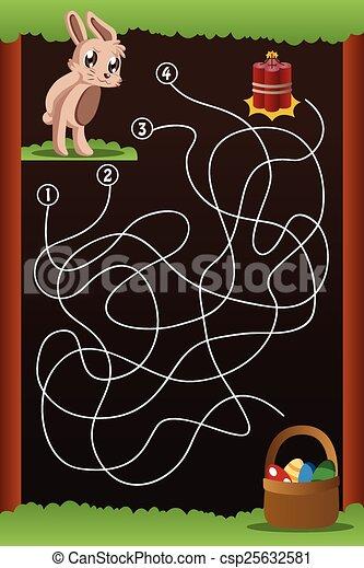 Maze game - csp25632581