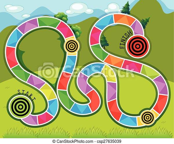 Maze game - csp27635039