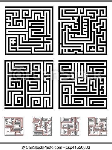 maze game set - csp41550803