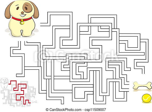 Maze game - csp11509007