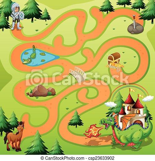 Maze Game  - csp23633902