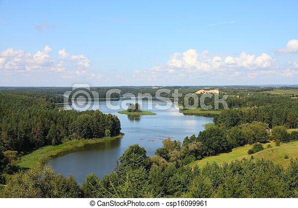 Mazury in Poland - csp16099961