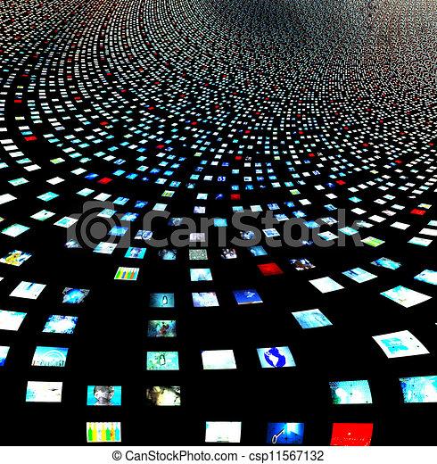 me, propre, créé, pas, résumé, écrans, images, vidéo, entireily, humain, besoin, figures, modèle, logiciel, mon, sortie - csp11567132