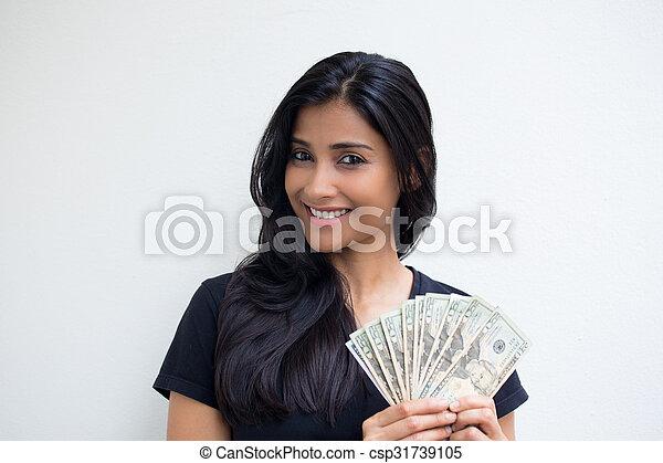 me, soldi, mostra - csp31739105