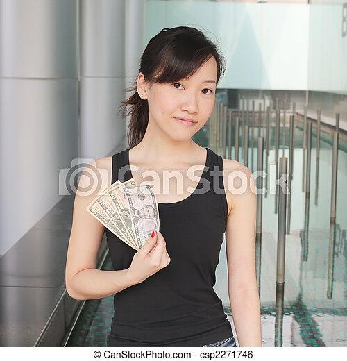 me, soldi, mostra - csp2271746