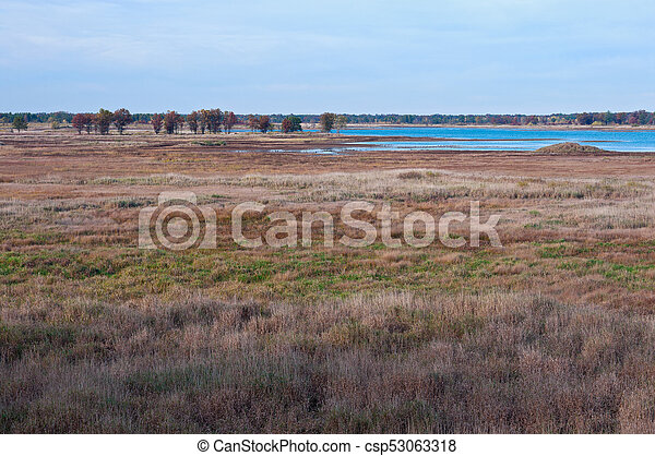 Meadows and Marshes of Necedah - csp53063318