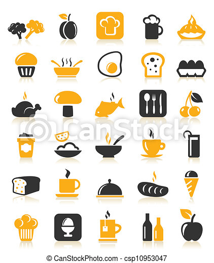 Meal icons5 - csp10953047