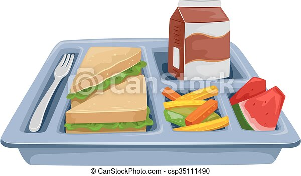 Meal Tray Diet Lunch - csp35111490