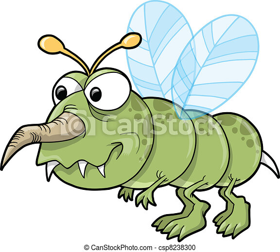 Mean Nasty Insect Bug Vector - csp8238300