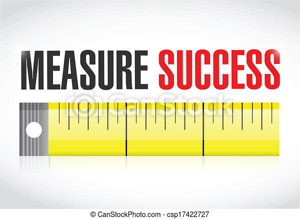 measure success illustration - csp17422727