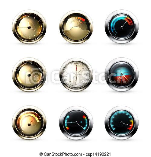 Measuring Devices, set - csp14190221
