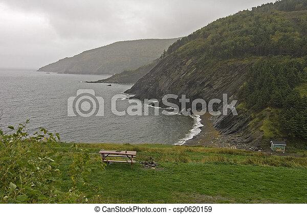 Meat Cove, Cape Breton Island, Nova Scotia, Canada - csp0620159