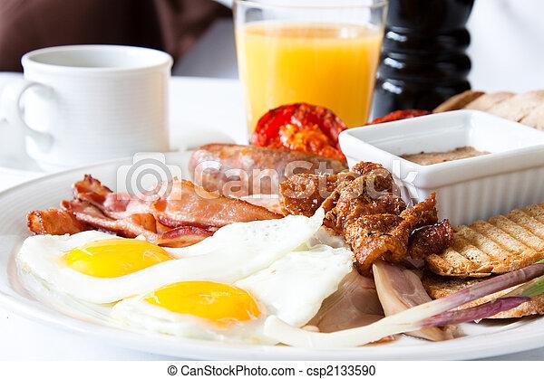 Meat Lover\'s Breakfast - csp2133590