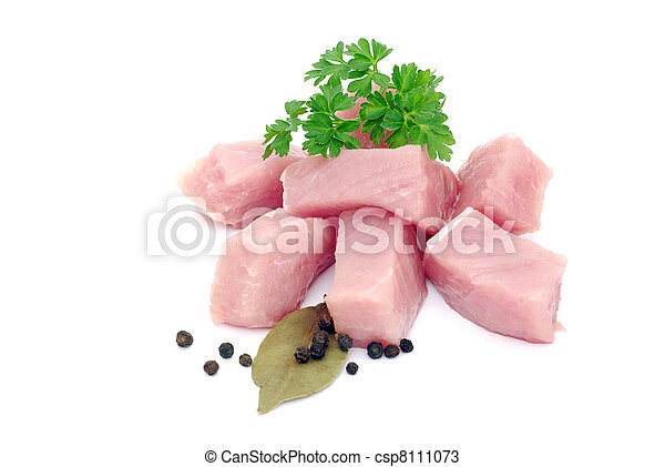 meat with parsley - csp8111073