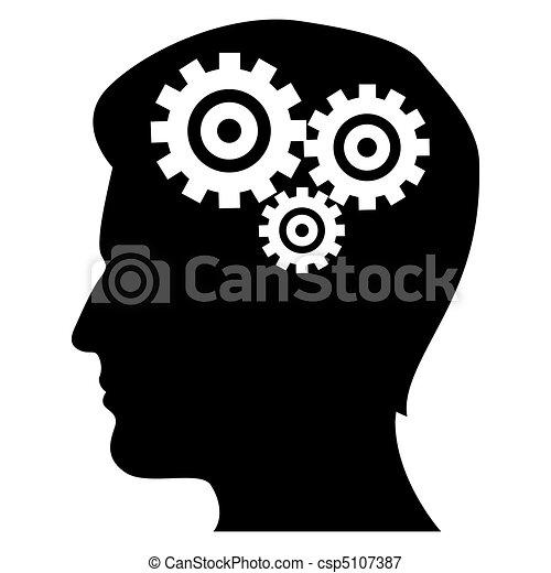 Mecánicos de la mente humana - csp5107387