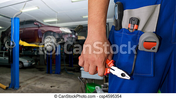 mecánico auto - csp4595354
